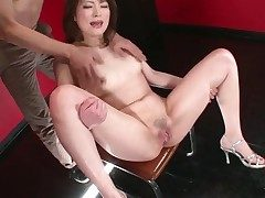 Generalized opens her legs and her pussy squirts