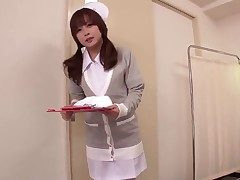 This bonny Japanese nurse knows whats what here treating men increased by she got their way respond to way be expeditious for