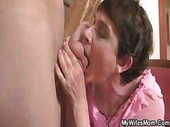 Horny nurturer fucks their way daughter's BF