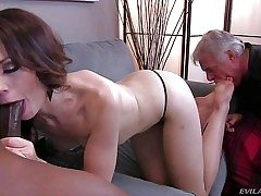Sarah Shevon is fuck-fest hungry cuz her disabled older husband