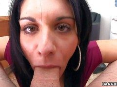 Bella Reese is a charming dark haired MILF from Italy.