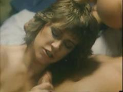 Juliet Anderson with some scenes from a classic porn video shafting