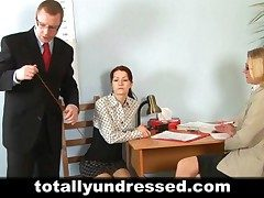 Young secretary's audition
